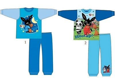 Boys Baby Toddler Children Bing Long Sleeve Pyjamas pjs Age 12 months - 5 Years