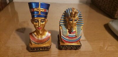 Ramses II And Nefertari Statues Ancient Egyptian Antiques
