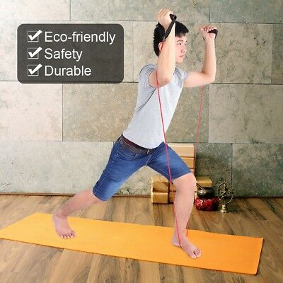 Exercise Cord Tube Band Fitness Stretch Elastic Resistance Band Yoga Pull Rope