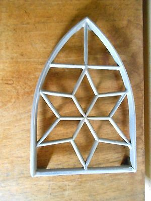 Vintage french cast alu architectural Suppot TRAY  TRIVET