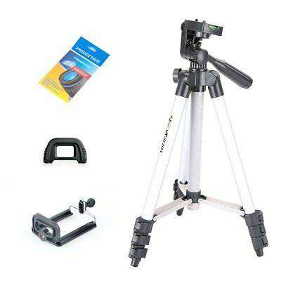 WEIFENG WT3110A Tripod with 3-Way Head Tripod for Moble phone Camera Canon Nikon