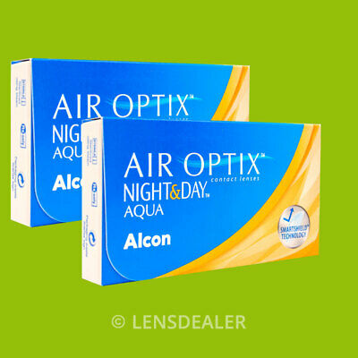 » AIR OPTIX NIGHT AND DAY AQUA 2x6 KONTAKTLINSEN MONATSLINSEN «ALCON CIBA VISION