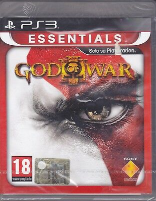Ps3 PlayStation GOD OF WAR III 3 nuovo sigillato italiano pal