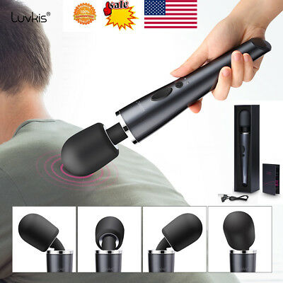 MagicHandheld Microphone Vibrator Personal Massager Full Body Relax 10 Speed US