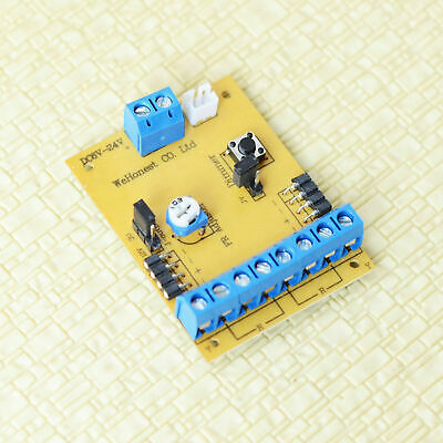 1 x circuit board flasher for grade crossing signals dimmer blink rate adjuster