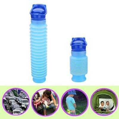 Emergency Urinal Portable Shrinkable Pee Bottle Outdoor Travel Camping Kid Adult