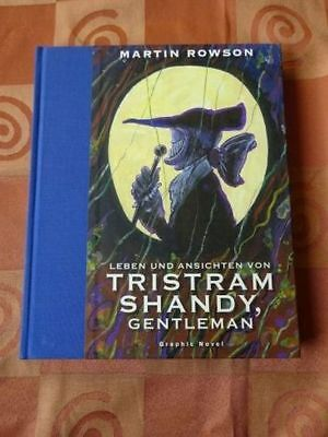 Martin Rowson - Tristram Shandy Gentleman - Graphic Novel - EA 2011