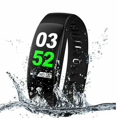 Colore schermo Fitness Tracker Activity Impermeabile SMART WATCH IOS Android