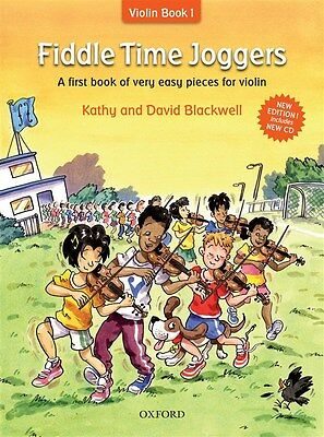 Fiddle Time Joggers (Book/CD)  - Same Day P+P
