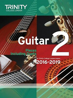 Trinity College Guitar Pieces Grade 2 from 2016-19 - Same Day P+P