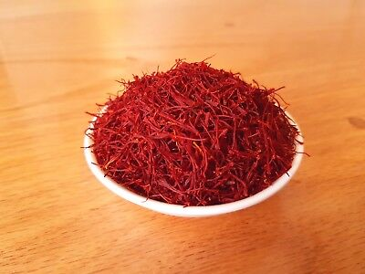Royal Saffron: Premium Quality from the Middle East. All Red Coupe.