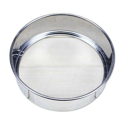 Stainless Steel Kitchen Round Mesh Sugar Flour Sifter Strainer Baking SALE