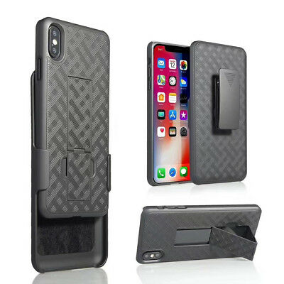 Shock Proof Case Cover Shell Clip Kickstand for Apple iPhone XS/XR /XS MAX