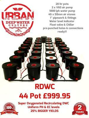 44 Pot 20L System (4Lane) For Grow Size 5.5 x 2m Autopot DWC R Roots Hydroponic