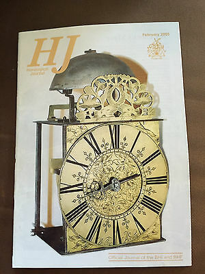 Feb 2005 Horological Journal Magazine - An Atomic Clock On A Chip