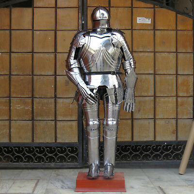 Unidecor Wearable Medievial Kinght Full Gothic Suit Steel Armor Reenactment
