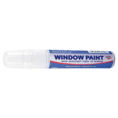COSCO Paint Marker, Removable, White, 038873, White