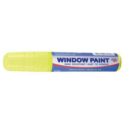 COSCO Paint Marker, Removable, Yellow, 038871, Yellow
