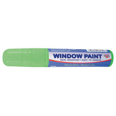 COSCO Paint Marker, Removable, Green, 038872, Green