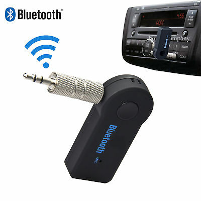 Wireless Bluetooth 3.5mmAUX Audio Stereo Music Home Car Receiver Adapter Car Kit