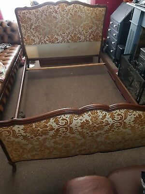 Original Vintage French Double Bed