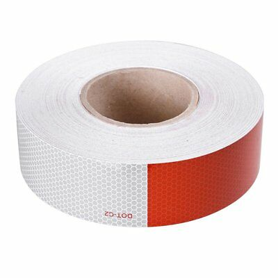"""2""""x150' DOT-C2 Reflective Conspicuity Tape Safety Strip Sticker Truck Trailer MY"""