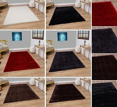 New Carpet/Rugs Plain Pattern Solid Colour Small Large Bedrooms Runner Floor Mat