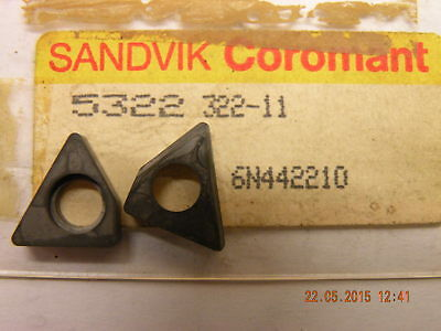 1 off Sandvik shim seating 5322 322-11 for lathe threading screwcutting tool new