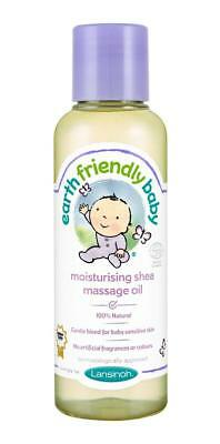 Earth Friendly Baby Moisturising Shea Butter Massage Oil 125ml