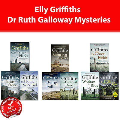 Dr Ruth Galloway Mysteries series Elly Griffiths 1-9 books collection set pack