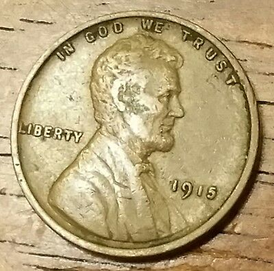 1915 LINCOLN WHEAT CENT PENNY Extremely Fine Condition