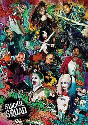 Suicide Squad (We Are Bad Guys) MightyPrint Fade/Tear Resistant Wall Art