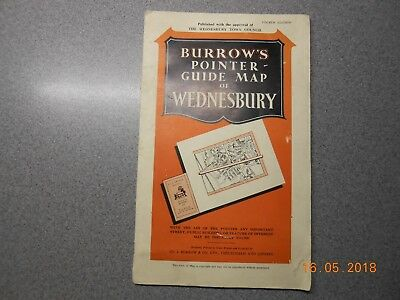 Wednesbury, Pointer Guide Map of Wednesbury