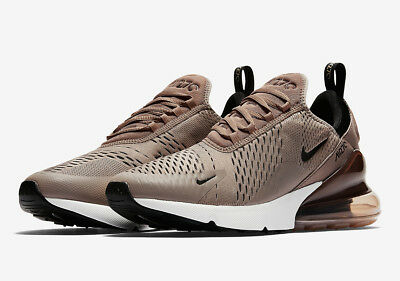 Nike Air Max 270 Men's Sepia Running Sport Shoes Shock Absorption Non-slip Size