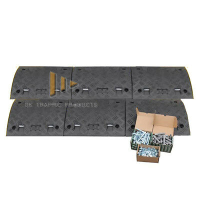 3M Speed Ramp Kit *75mm* - ALL BLACK (6 mid sections, NO ENDS + fixings)