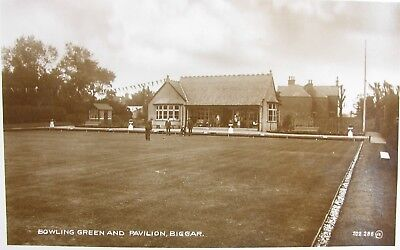 The Bowling Green & Pavilion Biggar Lanarkshire Early Rp Pc