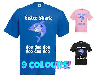 Sister Shark T Shirt Doo Doo Doo Do Doo Viral Song