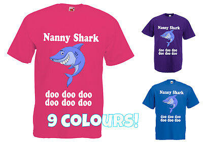 Nanny Shark T Shirt Doo Doo Doo Do Doo Viral Song