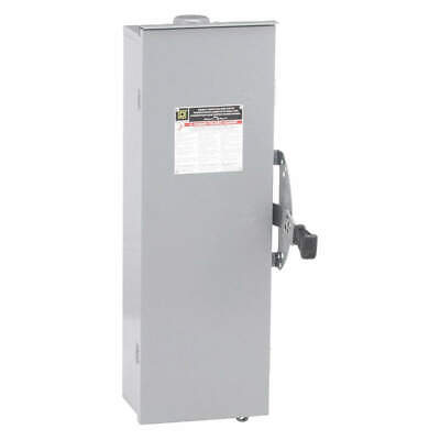 SQUARE D Safety Switch,240VAC,3PDT,100 Amps AC, DTU323RB