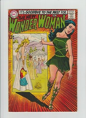 Wonder Woman #179 (Nov-Dec 1968, DC) FN- (5.5) Classic Cover !!!!!!!
