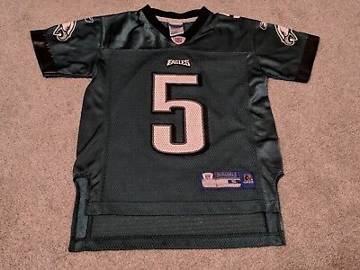 315267a8c Reebok NFL Philadelphia Eagles  5 McNabb Youth S (8) Mesh Screened Jersey