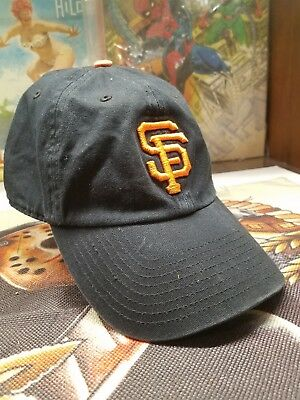 premium selection c335c 731ed clearance 47 brand mlb san francisco giants clean up cap retro dad hat  black. baa8f