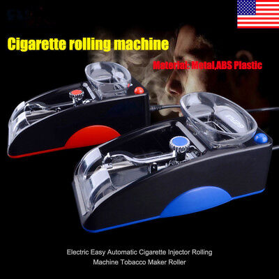 Electric Automatic Cigarette Rolling Machine Tobacco Injector Maker Roller Gift