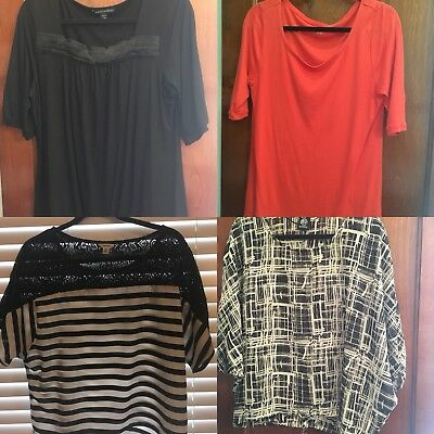 Ladies Tops - Size Large - Lot Of 4