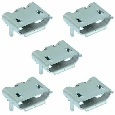 5 x Micro USB Type B Horizontal Female Socket Connector SMD