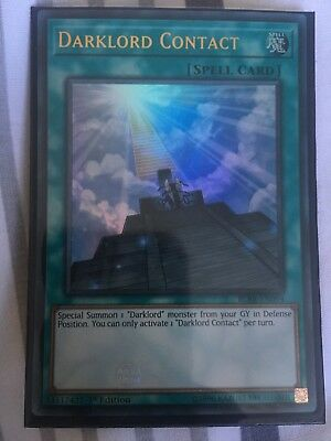 Ultra Rare Card BLRR-EN094-1st Edition DARKLORD CONTACT Yu-Gi-Oh
