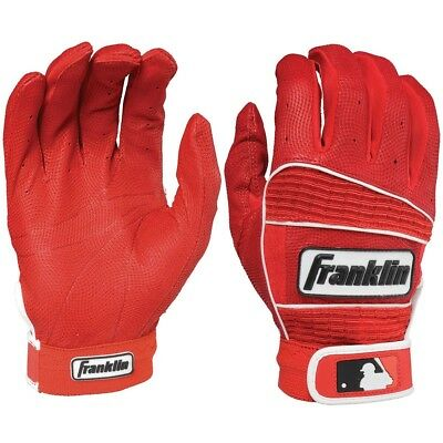 Franklin Neo Classic II Batting Gloves Red/Red Youth Medium