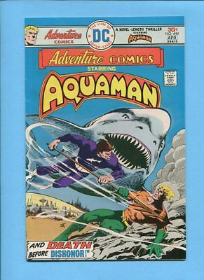 Adventure Comics #444 Aquaman DC Comics March-April 1976 Jim Aparo