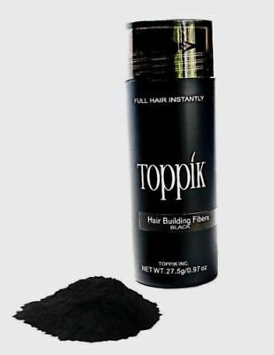 BLACK TOPPIK Hair Loss Building Fiber 27-5g FREE AND FAST SHIPPING IN USA