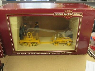 BACHMANN BIG HAULER G-Scale Usa #96201 Gandy Dancer Hand Car  (12548-Train-Ns)